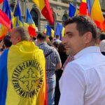 Câteva sute de oameni protestează în Piața Universității: Nu vor restricții pentru nevaccinați