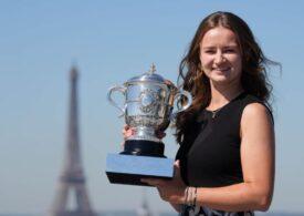 Barbora Krejcikova, campioană la Roland Garros, dezvăluie cum Simona Halep i-a schimbat cariera