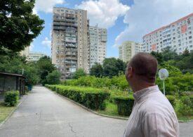 Un bloc din Sectorul 2 al Capitalei se află în lucrări de reabilitare de 10 ani