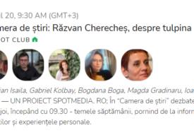 Discutăm despre tulpina Delta cu Răzvan Cherecheș, în Camera de Știri de pe Clubhouse. Intră și tu!