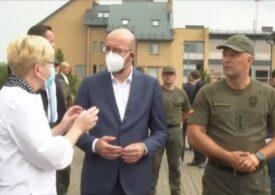 """UE nu este nici """"naivă"""" şi nici """"intimidată"""" de Belarus, avertizează Charles Michel"""
