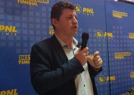 Viceprimarul Timişoarei, Cosmin Tabără, este noul preşedinte al PNL Timişoara