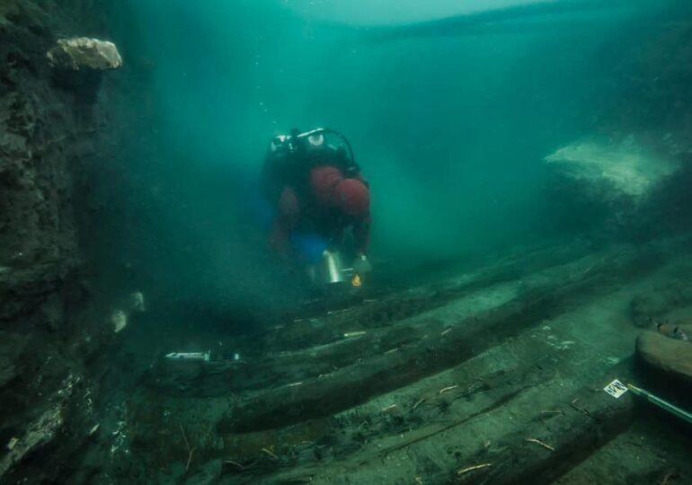 O corabie militară antică şi morminte greceşti au fost descoperite în oraşul scufundat Thonis-Heracleion (Galerie foto)