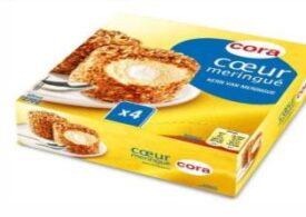 Alertă alimentară la Cora: Desert retras de la vânzare din cauza conţinutului mare de oxid de etilenă
