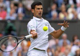 Novak Djokovic se califică din nou în finală la Wimbledon