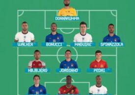 EURO 2020 | Cristiano Ronaldo nu și-a găsit loc în echipa turneului