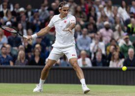 Roger Federer a fost eliminat în sferturi la Wimbledon