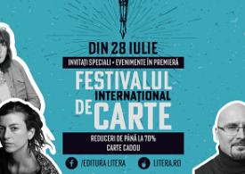 Începe prima ediție a Festivalului Internațional de Carte pe Litera.ro