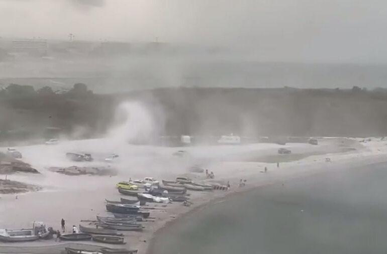 Furtună puternică pe litoral: Rafalele de vânt au depășit 80 de kilometri la oră (Video)