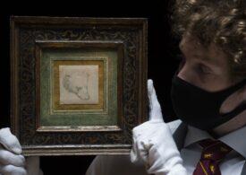 Un desen al lui Leonardo da Vinci a fost vândut pentru mai mult de 10 milioane de euro