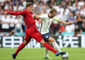 Anglia învinge Danemarca în prelungiri și va juca finala EURO 2020 cu Italia