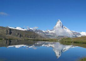 Topirea gheţarilor a dus la formarea a peste 1.000 de lacuri în Alpii elveţieni