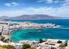 Vacanță cu restricții pe insula elenă Mykonos: Muzica e interzisă ziua, circulația e condiționată noaptea