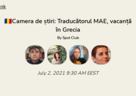 Traducătorul MAE, vacanță în Grecia. Discutăm în Camera de Știri. Intră și tu!