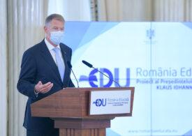 Iohannis anunţă că Guvernul va adopta un memorandum pentru România Educată, care beneficiază de un sprijin financiar istoric