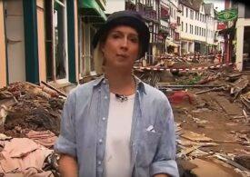 Reporter TV concediat după ce s-a murdărit intenţionat cu noroi înainte de a transmite despre inundaţiile devastatoare din Germania (Video)