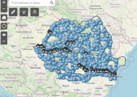 S-a lansat aplicaţia cu parcările şi spaţiile de servicii de pe drumurile naţionale şi autostrăzi