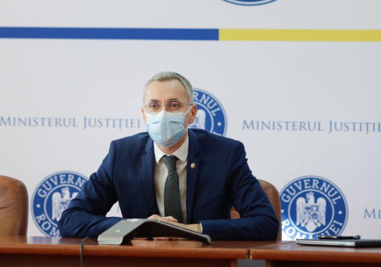 Ministrul Justiției răspunde la problemele semnalate în interviul Spotmedia: Susțin mai multe locuri la  INM. Dosarul electronic - gata la 1 ianuarie 2022