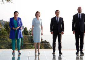 """Summit cheie între UE, Republica Moldova, Georgia şi Ucraina: """"Vom celebra împreună sosirea celor trei surori în familia europeană"""""""