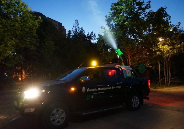Primăria Capitalei începe de duminică o nouă acţiune de combatere a ţânţarilor