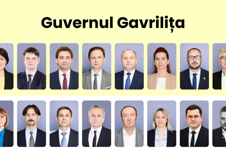 Republica Moldova: Premierul desemnat de Maia Sandu și-a prezentat lista cu miniștri