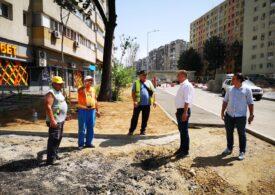 Radu Mihaiu a verificat șantierul de la Doamna Ghica și promite că luna asta se va deschide circulația