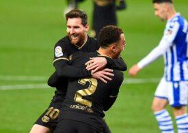Care sunt cei patru jucători care se bucură de plecarea lui Lionel Messi de la FC Barcelona