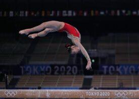 JO 2020   Aur și argint pentru China în finala de la bârnă. Cu nota din calificări, Larisa Iordache ar fi fost pe podium