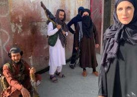 Cine e Clarissa Ward, jurnalista în negru care a captat atenția lumii cu relatările din Afganistan