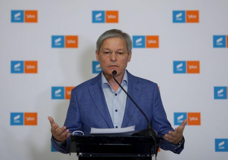 Cioloş: USR PLUS nu cred că va fi vreodată un partid de lider sau dependent de un lider