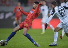 Liga 1: FCSB câștigă cu emoții jocul cu Gaz Metan și are un moral bun înaintea derbiului cu Rapid
