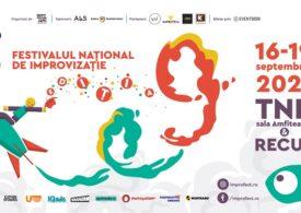 Festivalul Național de Improvizație revine la București între 16 și 19 septembrie