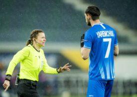 Un meci al naționalei României va fi arbitrat de o femeie