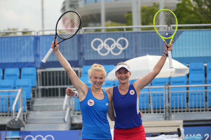 An minunat pentru Barbora Krejcikova. După titlul de la Roland Garros, a devenit campioană olimpică la Tokyo în proba de dublu
