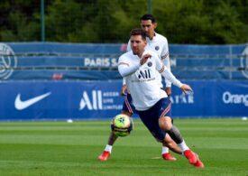 Leo Messi poate debuta la PSG duminică seara în deplasarea de la Reims