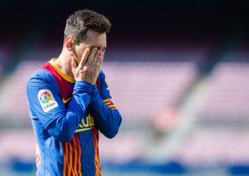 Momente tulburătoare în fața stadionului Camp Nou, cu mii de fani ai Barcelonei ovaționându-l pe Messi pentru ultima dată (Video)
