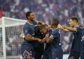 Cu Messi în tribune, PSG a făcut spectacol cu Strasbourg în Ligue 1
