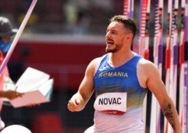 Alexandru Novac, pe ultimul loc în finala de la aruncarea suliței. România încheie Jocurile Olimpice cu 4 medalii