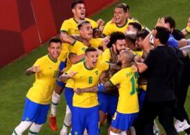 Brazilia învinge Spania și e campioană olimpică la fotbal