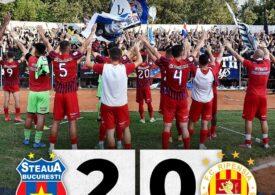 CSA Steaua este noua lideră din Liga II după victoria din Ghencea cu Ripensia