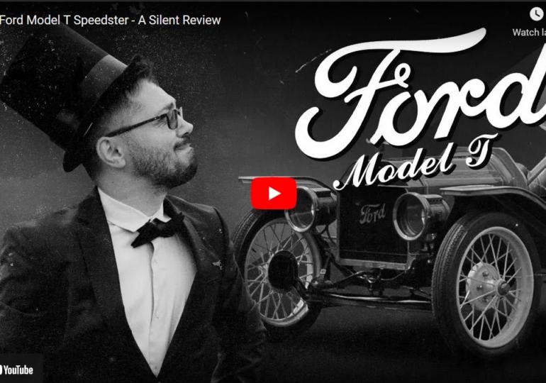 Primul review auto mut din lume, realizat de niște români pentru un Ford Model T din 1914 (Video)