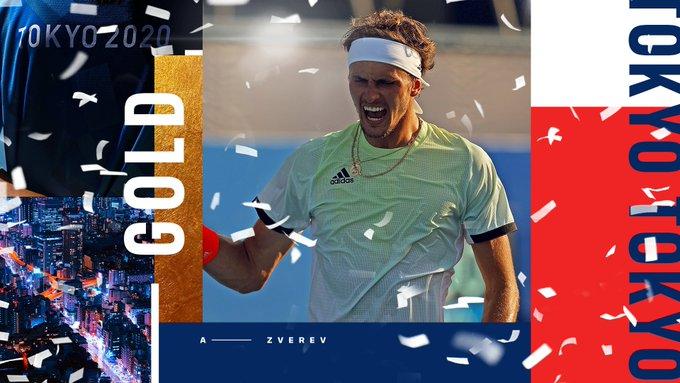 Alexander Zverev este noul campion olimpic în turneul de tenis de la Tokyo