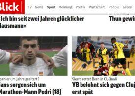 """Presa din Elveția a răbufnit după meciul de la Cluj: """"Dragă UEFA, asta e o prostie"""""""