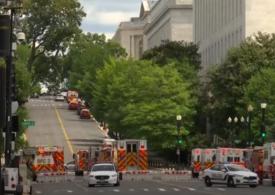 """Alertă lângă Capitoliul SUA <span style=""""color:#ff0000;font-size:100%;"""">UPDATE</span> Bărbatul care amenința cu bomba s-a predat"""