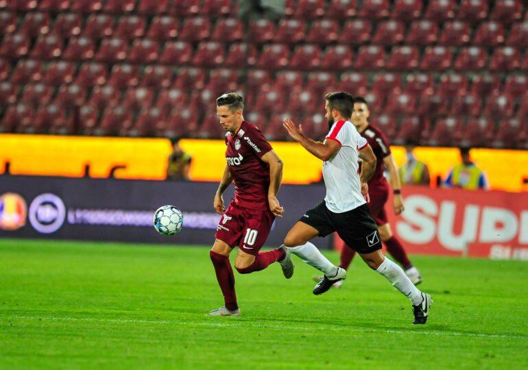 CFR Cluj, egalată în prelungiri de Young Boys Berna