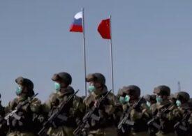 China şi Rusia fac exerciţii militare comune, în contextul tensiunilor cu Statele Unite (Video)