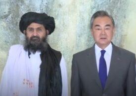 """China se bucură că """"ocupația străină"""" a plecat din Afganistan"""