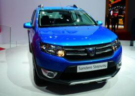Dacia Sandero a fost în iulie cea mai bine vândută maşină la nivel european