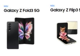 Telefoanele Galaxy Z Fold3 şi Galaxy Z Flip3 de la Samsung sunt disponibile în magazinele din România: Află prețul