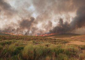 Incendiu puternic în Spania: Aproape 1.000 de persoane au fost evacuate (Video)